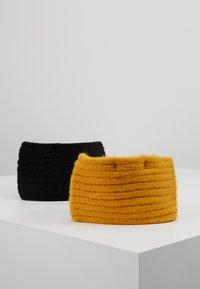 Even&Odd - 2 PACK - Oorwarmers - mustard/black - 3