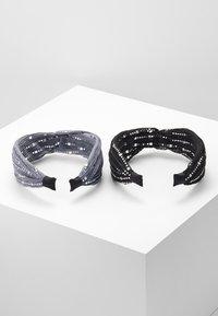 Even&Odd - 2 PACK - Haaraccessoire - black/grey - 2
