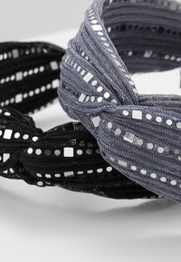 Even&Odd - 2 PACK - Hair Styling Accessory - black/grey - 4