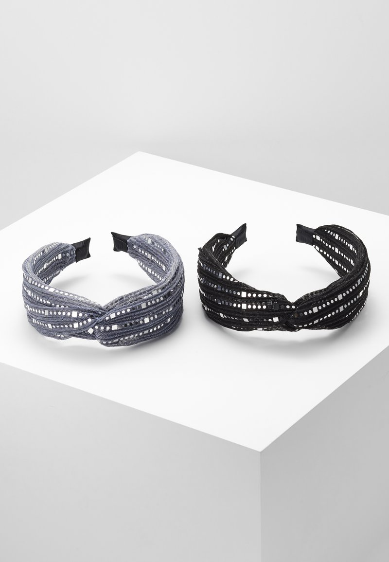 Even&Odd - 2 PACK - Hair Styling Accessory - black/grey
