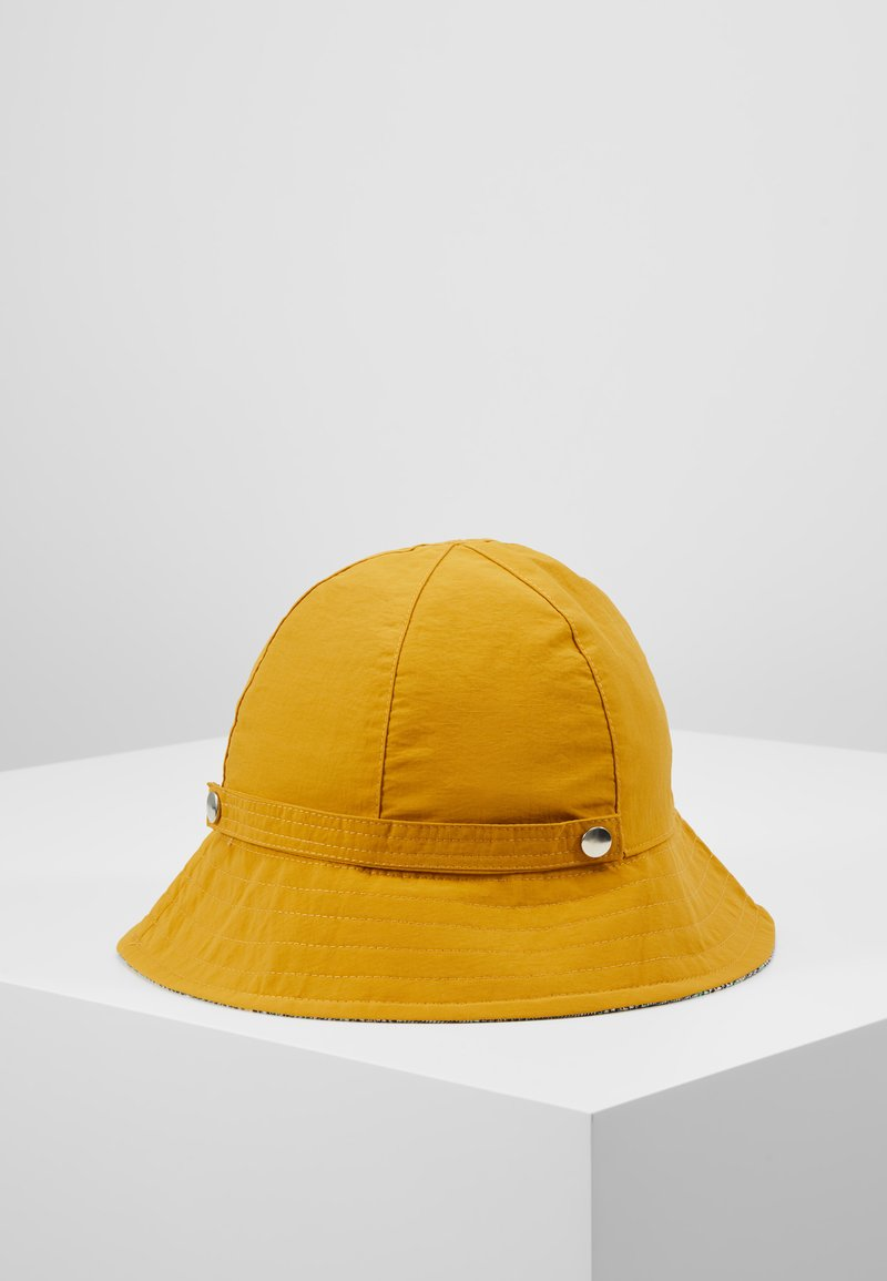 Even&Odd - REVERSIBLE HAT - Bonnet - mustard