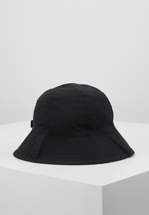 REVERSIBLE HAT - Bonnet - black