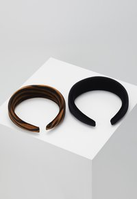Even&Odd - 2 PACK - Hair Styling Accessory - brown/black - 2