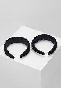 Even&Odd - 2 PACK - Akcesoria do stylizacji włosów - black - 2