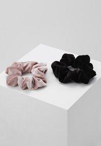 Even&Odd - 2 PACK - Haar-Styling-Accessoires - rose/black - 0