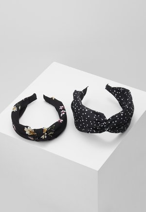 2 PACK - Hair styling accessory - black