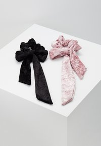 Even&Odd - 2 PACK - Hair Styling Accessory - black/rose - 0