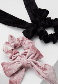 Even&Odd - 2 PACK - Hair Styling Accessory - black/rose - 5