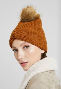 Even&Odd - Bonnet - brown - 1