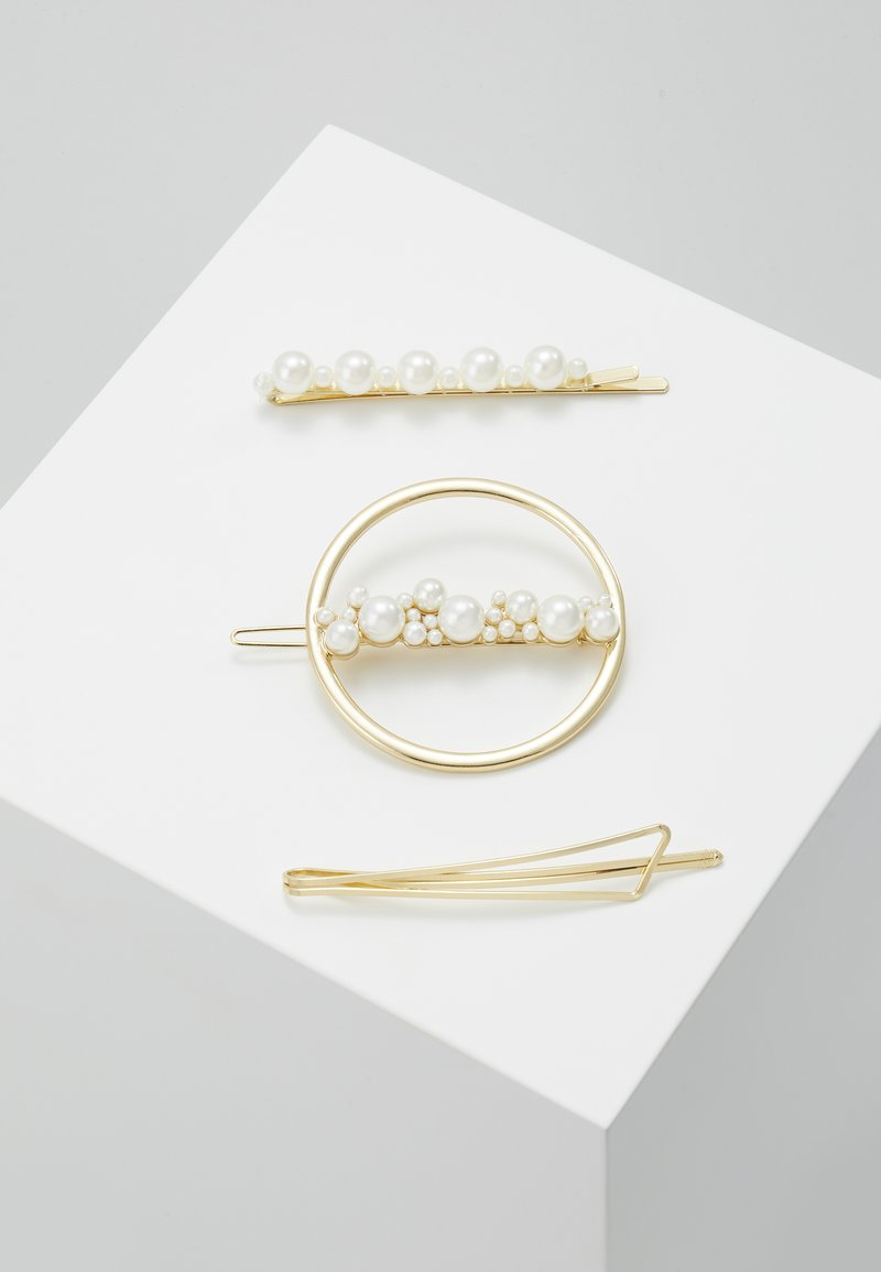 Even&Odd - 3 PACK - Accessoires cheveux - gold-coloured
