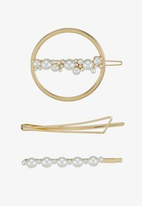 Even&Odd - 3 PACK - Accessoires cheveux - gold-coloured - 3