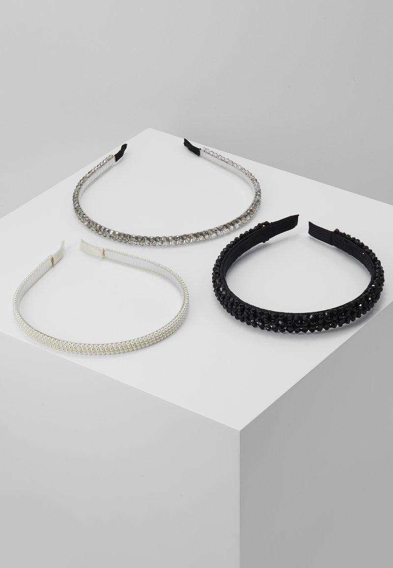 Even&Odd - 3 PACK - Haaraccessoire - white/black
