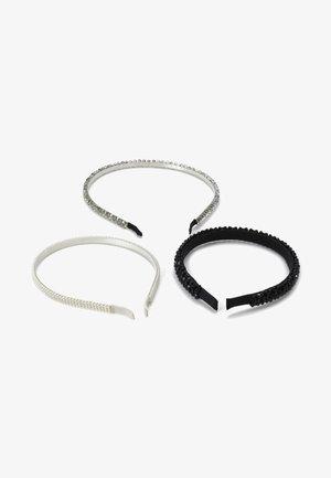 3 PACK - Příslušenství kvlasovému stylingu - white/black