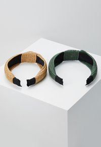 Even&Odd - 2 PACK - Accessori capelli - green/beige - 3