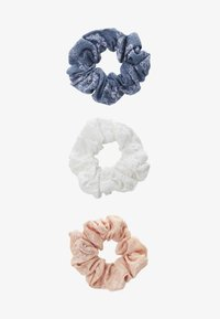 Even&Odd - 3 PACK - Hair styling accessory - white/blue/rose - 1