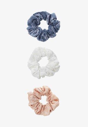 3 PACK - Håraccessoar - white/blue/rose