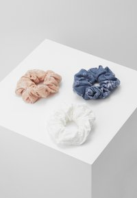 Even&Odd - 3 PACK - Hair styling accessory - white/blue/rose - 0