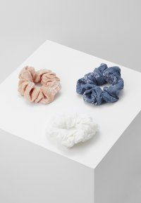 Even&Odd - 3 PACK - Hair styling accessory - white/blue/rose - 3