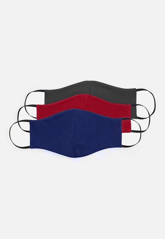 3 PACK - Community mask - dark blue/red/grey