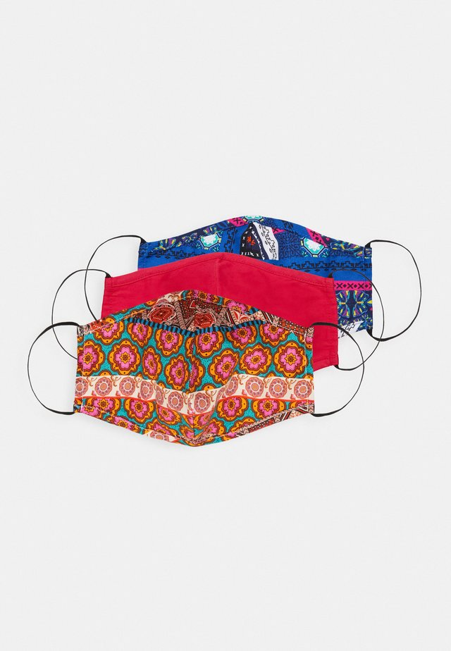 3 PACK - Community mask - blue/multi/rose