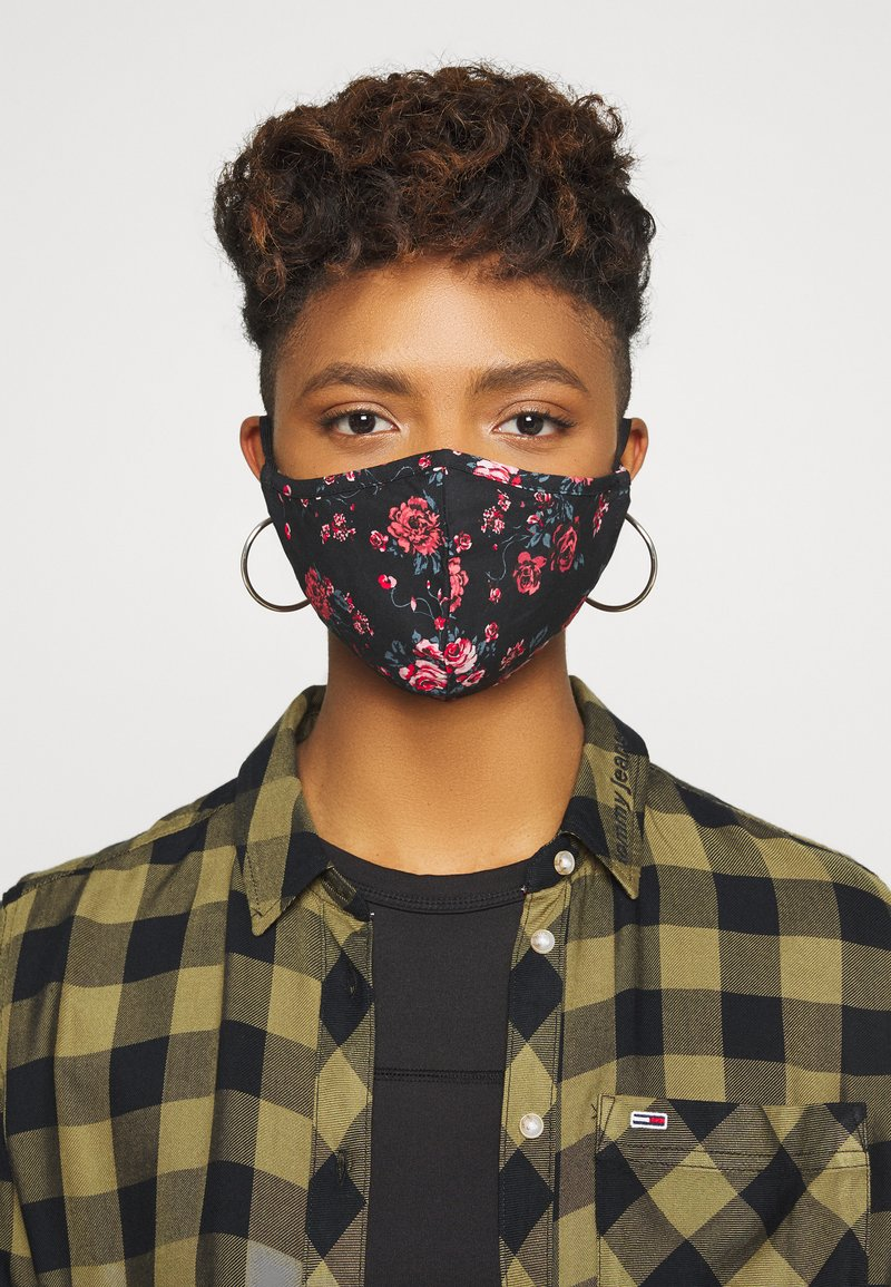 Even&Odd - 3 PACK - Community mask - rose/black