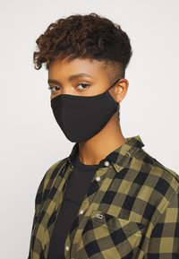 Even&Odd - 3 PACK - Community mask - rose/black - 2