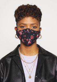 Even&Odd - 3 PACK - Community mask - multi/black/khaki - 0