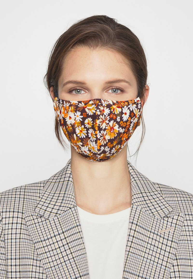 Even&Odd - 3 PACK - Community mask - multi/orange