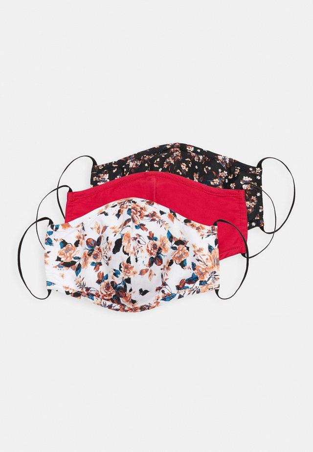 3 PACK - Maschera in tessuto - multi/rose