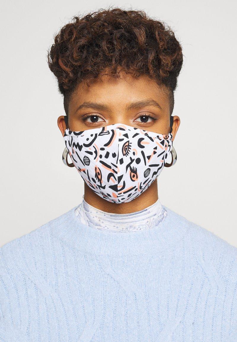 Even&Odd - 3 PACK - Community mask - multi/orange/black