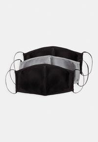 Even&Odd - 3 PACK - Community mask - black/grey - 3