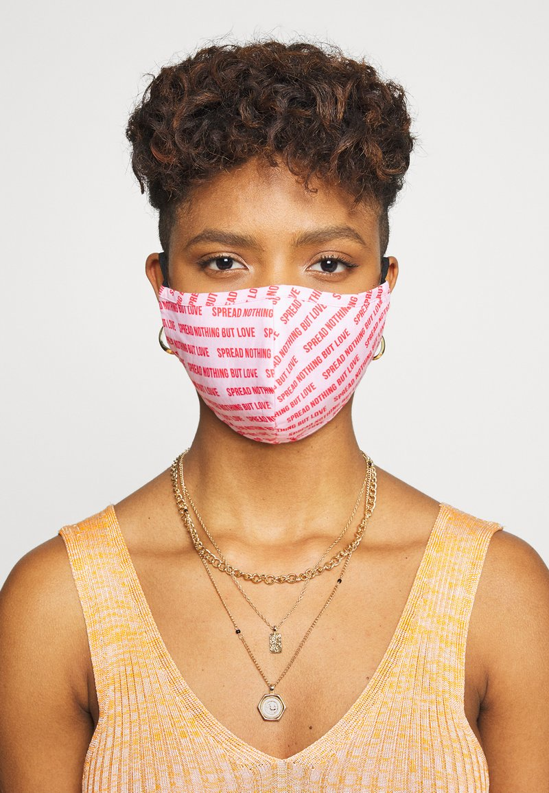 Even&Odd - 3 PACK - Community mask - dark blue/multi/pink