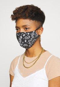 Even&Odd - 3 PACK - Community mask - black/mustard yellow - 2