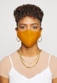 Even&Odd - 3 PACK - Community mask - black/mustard yellow - 0
