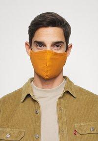 Even&Odd - 3 PACK - Community mask - black/mustard yellow - 3