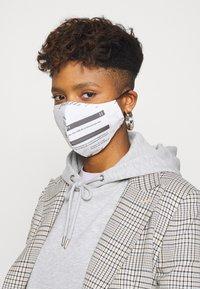 Even&Odd - 3 PACK - Community mask - white/black - 2