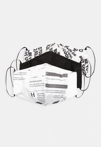 Even&Odd - 3 PACK - Community mask - white/black