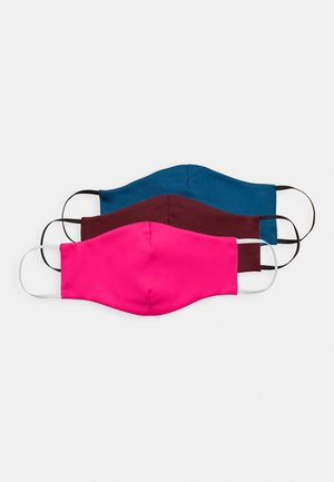 3 PACK - Community mask - petrol/red/pink