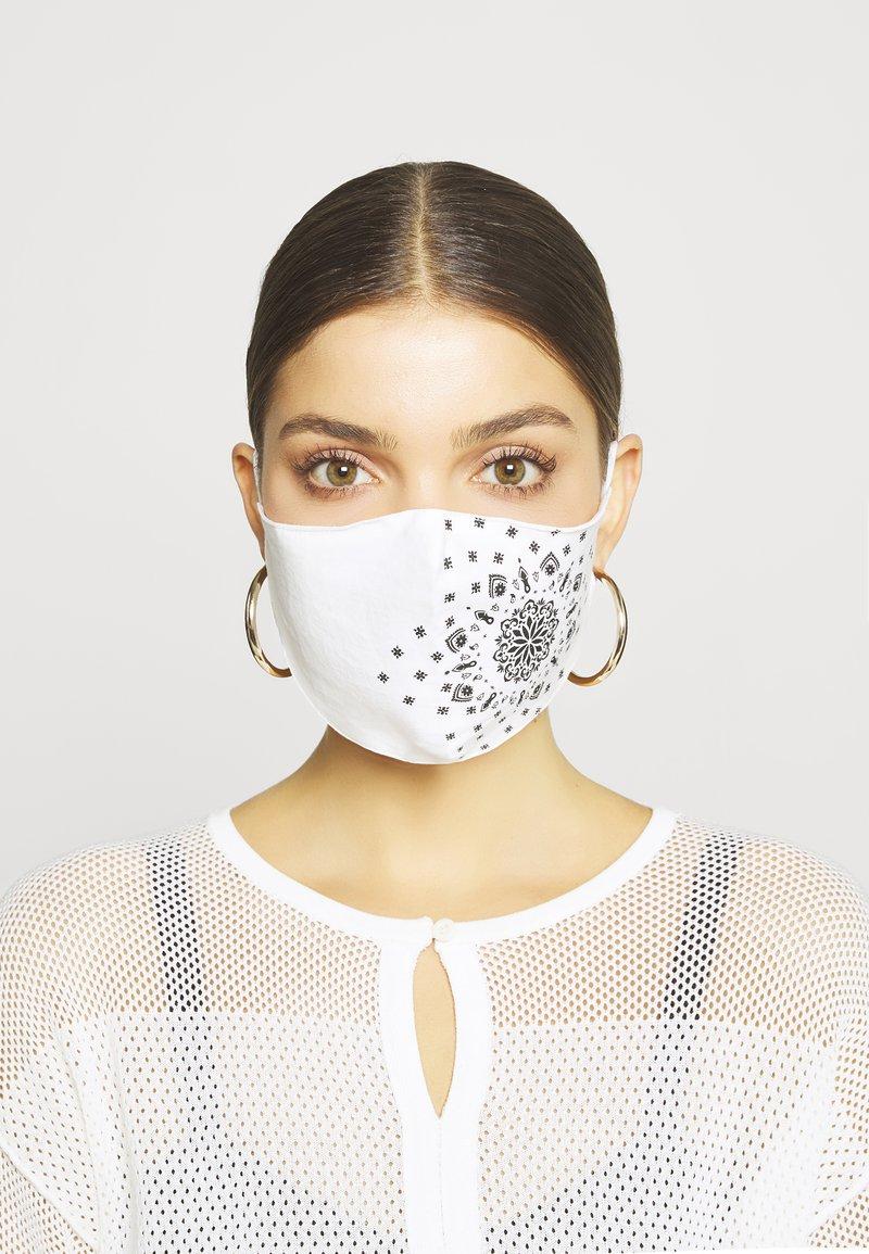 Even&Odd - 3 PACK - Community mask - white/dark blue