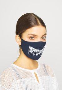 Even&Odd - 3 PACK - Community mask - white/dark blue - 1