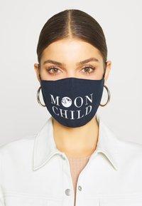 Even&Odd - 3 PACK - Community mask - dark blue /white - 0