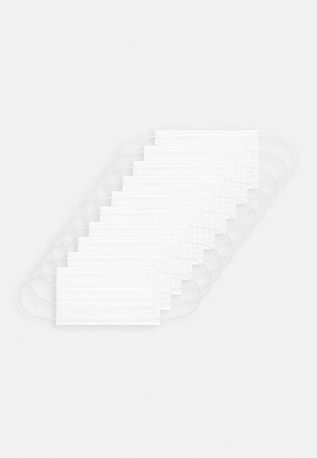 10 PACK DISPOSABLE - Kasvomaski - white