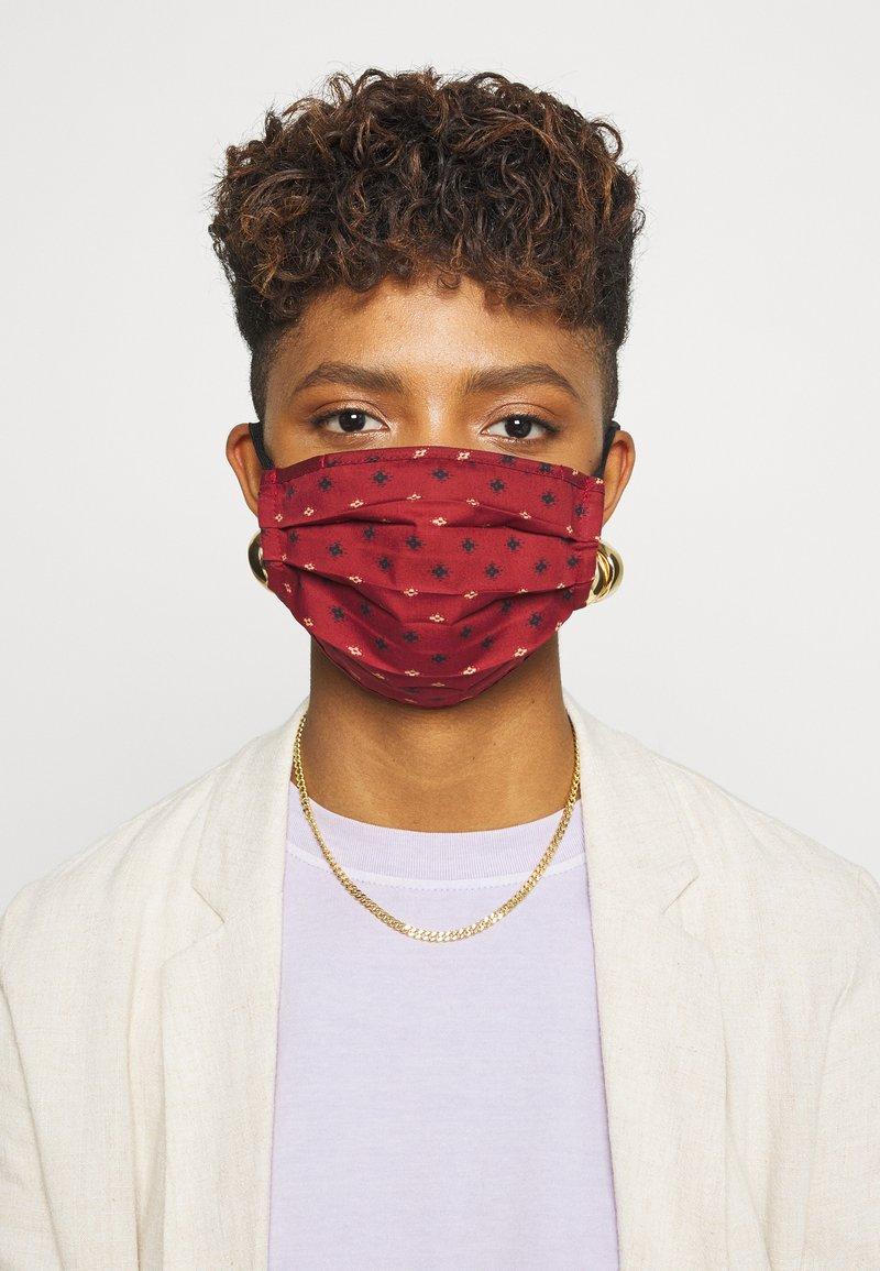 Even&Odd - 3 PACK - Community mask - dark red/dark blue