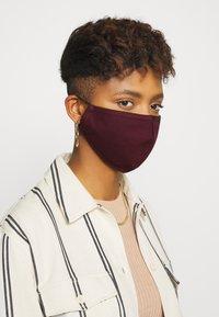 Even&Odd - 3 PACK - Community mask - black/multi-coloured/dark red - 1