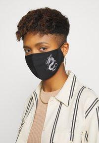 Even&Odd - 3 PACK - Community mask - black/multi-coloured/dark red - 2