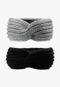 Even&Odd - 2 PACK - Oorwarmers - grey/black