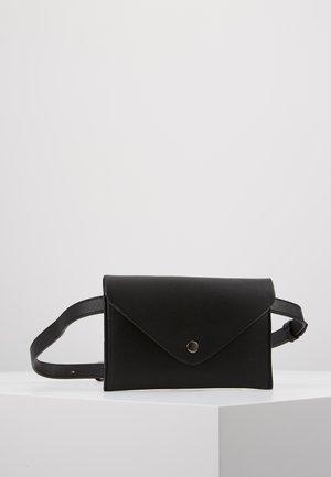 Rumpetaske - black/silver coloured