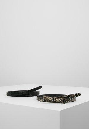 2 PACK - Riem - black/beige