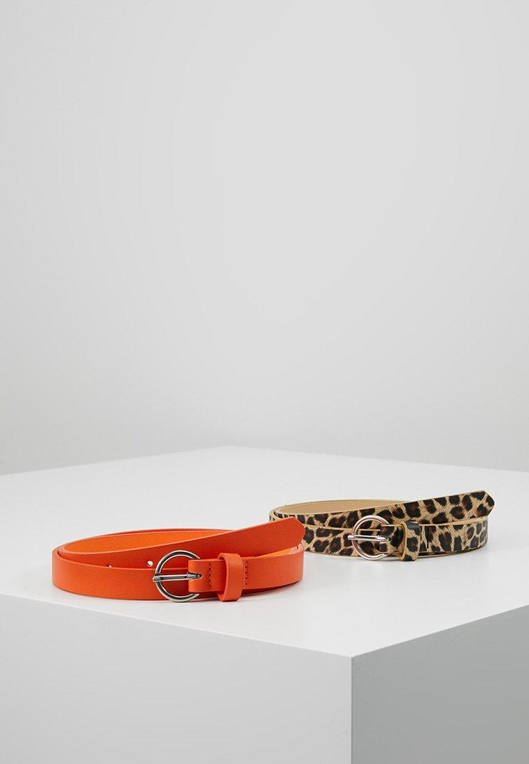 Even&Odd - 2 PACK - Taillengürtel - beige/orange