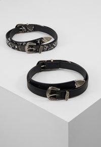 Even&Odd - 2 PACK - Tailleriem - black/grey - 0